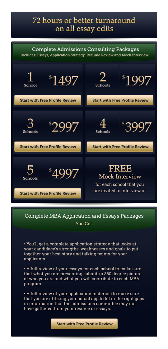 mba over 30com affordable mba admissions consulting